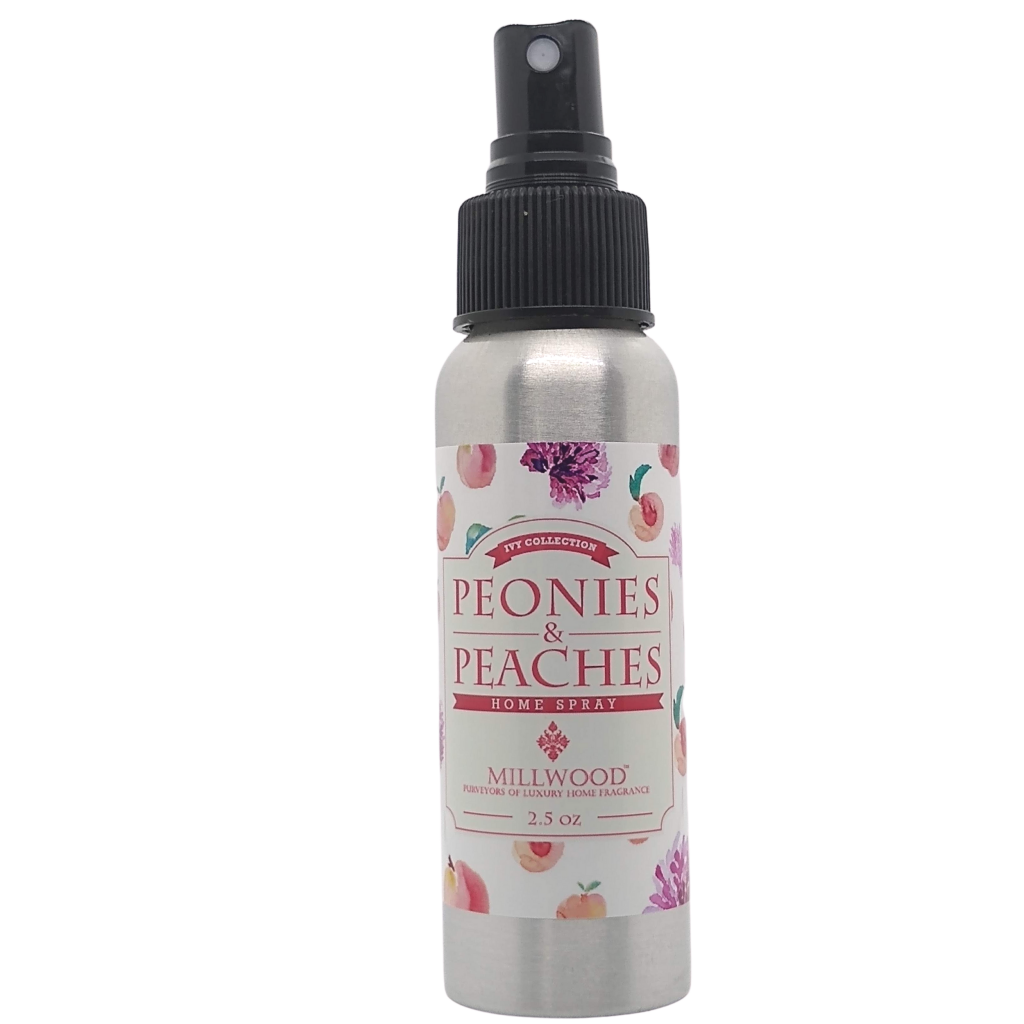 Peonies and Peaches 2021 Candle Scents and Air Freshener