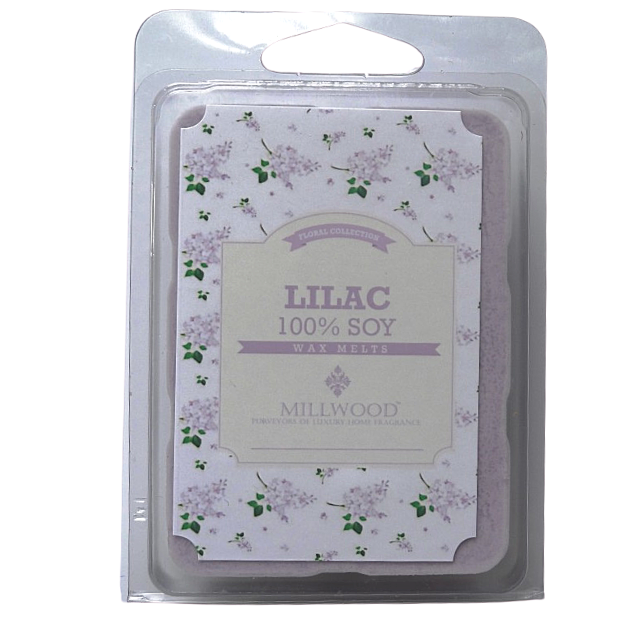 Organic Lilac Wax Melts - Millwood Candles