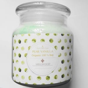 Pear Vanilla Soy Candle