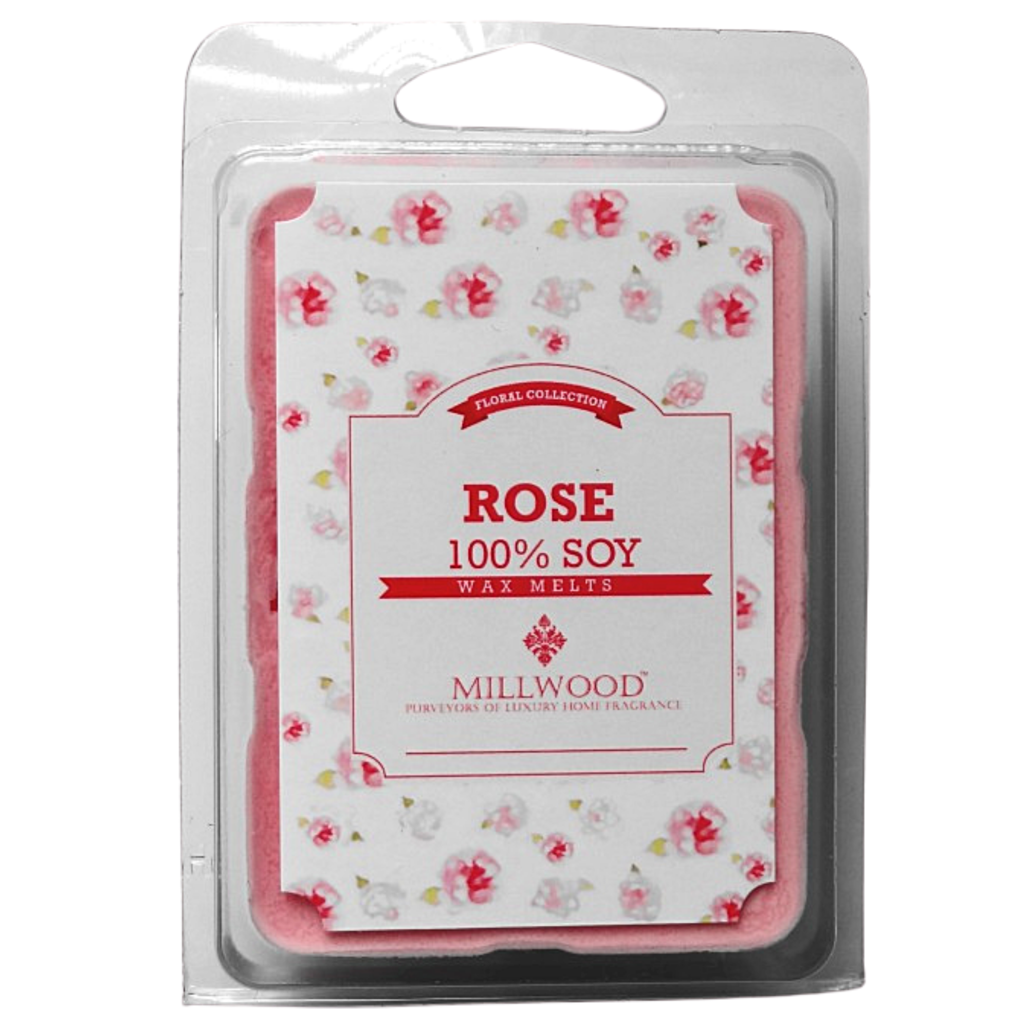 Rose Wax Melts by Millwood Candles