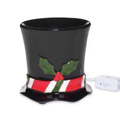 Snowman Hat Ceramic Wax Warmer