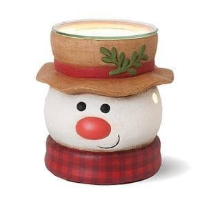 Snuffles Snowman Ceramic Wax Warmer