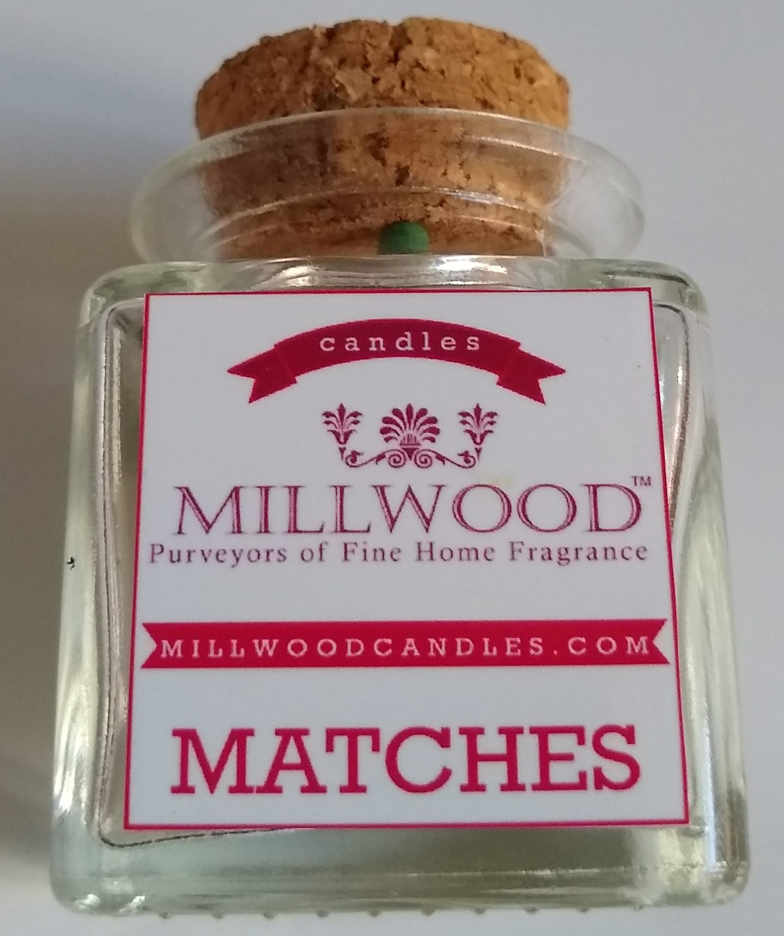 Matches from Millwood Candles