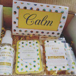 Lemongrass and Chamomile Gift Box Aromatherapy Natural Organic
