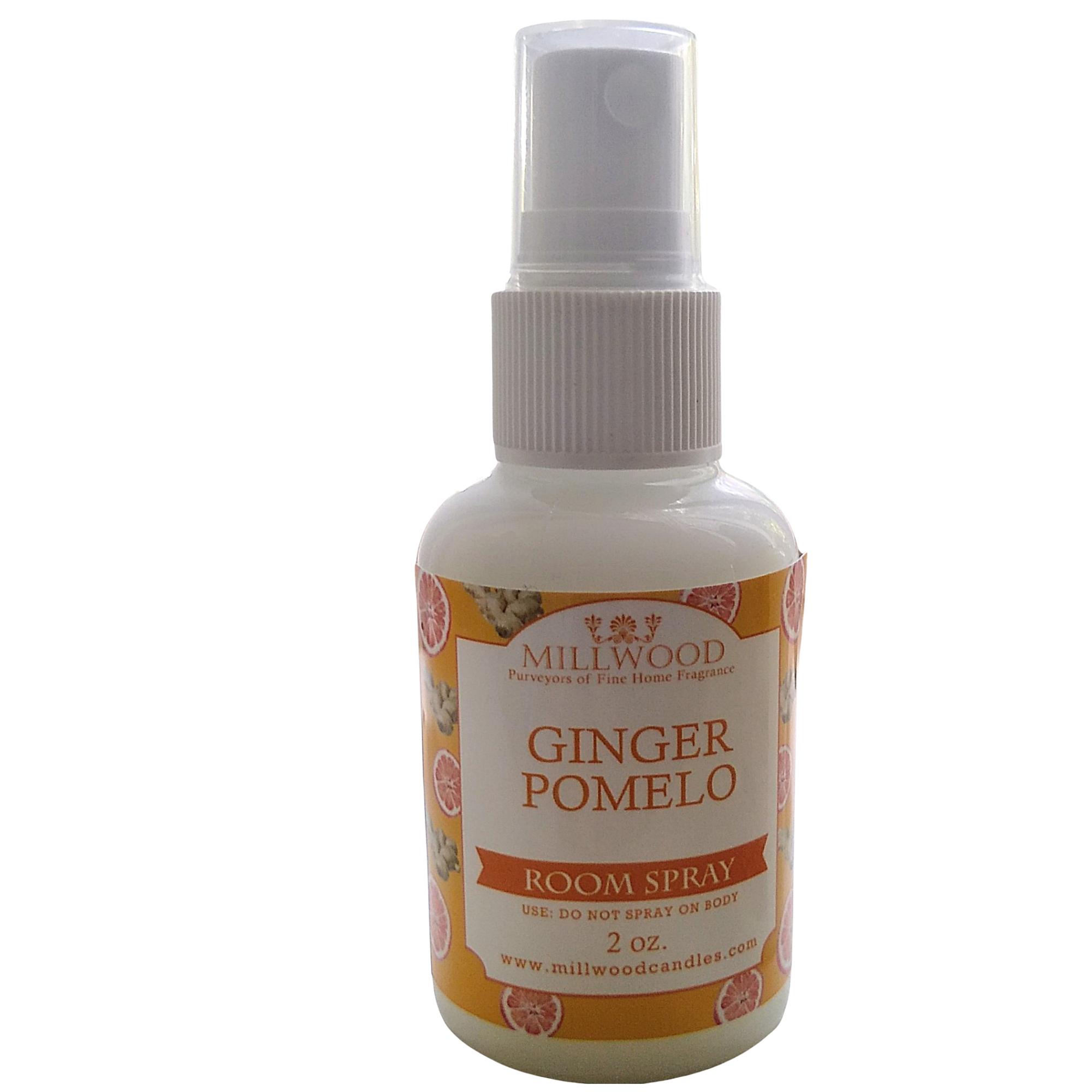 Ginger Pomelo scented room spray mini travel spray