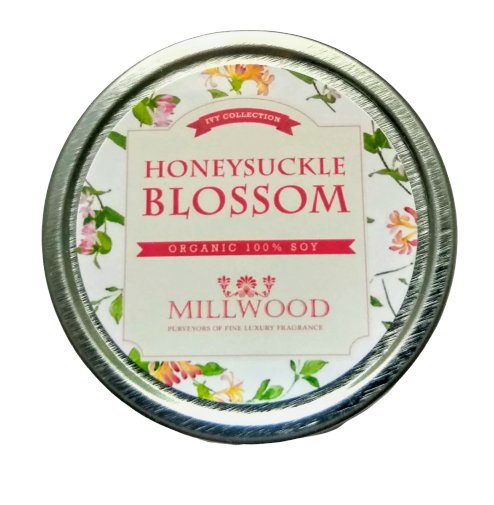 Honeysuckle Blossom Natural Soy Candle 2 ounce Millwood Candles