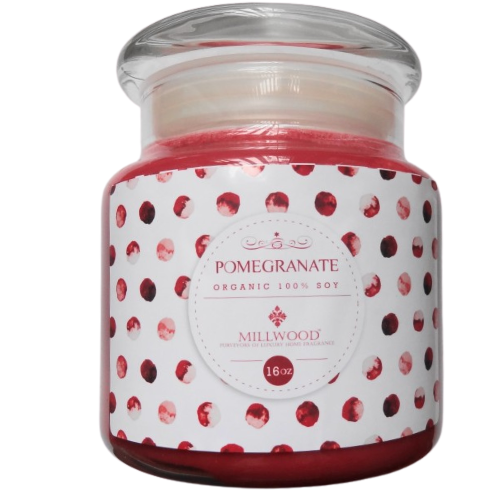 Pomegranate Soy Candle 16-oz
