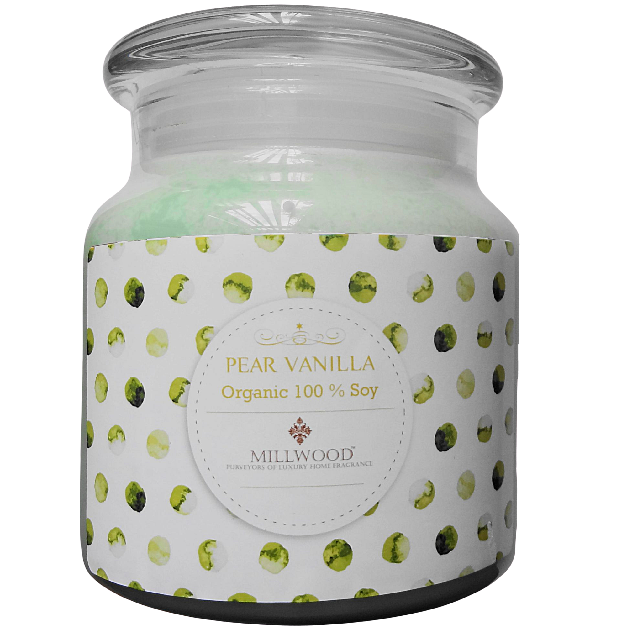 Pear Vanilla Soy Candle by Millwood Candles