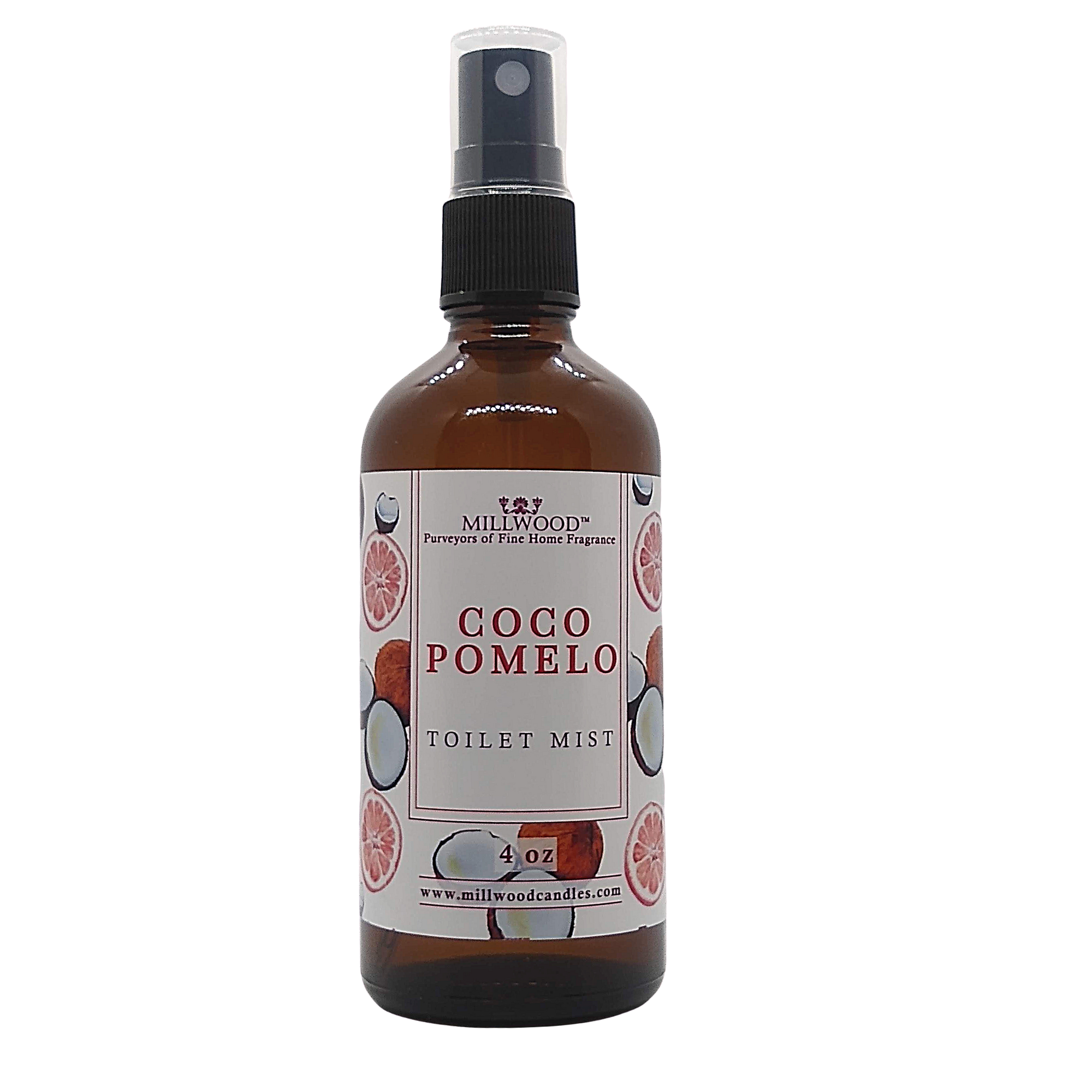 Coconut Toilet Spray by Millwood Candles Coupon $5 off